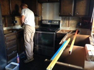 leveling cabinets