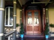 Ornate front door