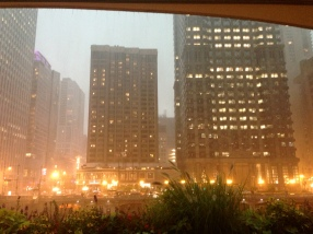 Medium rain