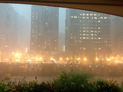 Torrential rain!
